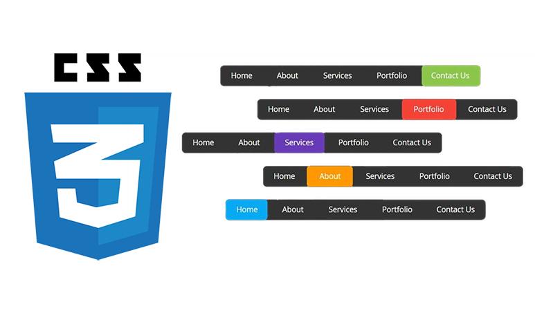 Lavalamp menu using CSS3
